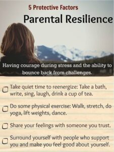 5 Protective Factors for Parental Resilience