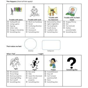 Emotional Regulation Plan for Children in Third Through Fifth Grade
